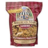 Bakery on Main Gluten Free Nutty Maple Cranberry Granola Cereal, 22 Ounce - 4 per case.