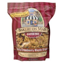 Bakery on Main Gluten Free Nutty Maple Cranberry Granola Cereal, 22 Ounce - 4 per case. by Bakery On Main