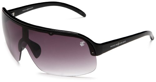 Rocawear Men's R879 Sunglasses,Black Frame/Gradient Smoke Lens,one - Glasses Rocawear