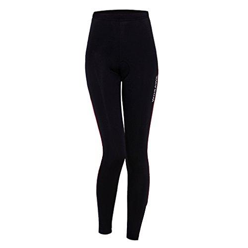 船上ウールかみそりLovoski サイクリング パンツ タイツ 女性 自転車 ライディング サイクリング服 パッド付き 吸汗速乾 全4サイズ