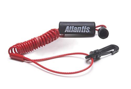 Safety Lanyard Pwc (Atlantis Sea Doo Safety Kill Switch Tether Floating Lanyard Key Red 278001431)