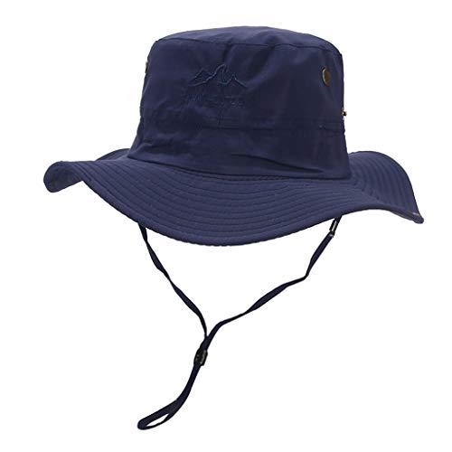 Weiliru Outdoor Waterproof Boonie Hat Wide Brim Breathable Hunting Fishing Hat Sun -