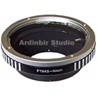 Ardinbir Pro Adapter Ring for Pentax 645 PT645 lens on Nikon Cameras: D3s D3 D700 D300s D300 D200 D90 D80 D5000 D3000 D70s D60 D50 D40 etc