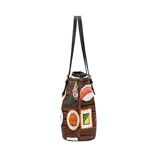 Shopping Mano Stile Portatile Superiore Giapponese Maniglia Causali Borsa Borse Con Per Modello Organizer Morbida Womens Tradizionale In Grande Bag Girls Lady Totes Cerniera Work Pelle avWFwqf