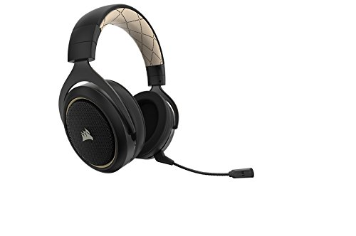 315RqD5mDSL - CORSAIR HS70 SE Wireless - 7.1 Surround Sound Gaming Headset - Discord Certified Headphones - Cream