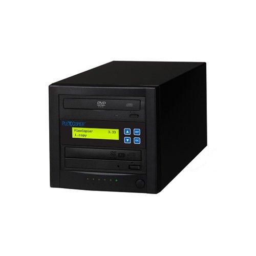 PlexCopier 24X SATA 1 to 1 CD DVD duplicator Writer Copier Tower (1 Target) by PlexCopier