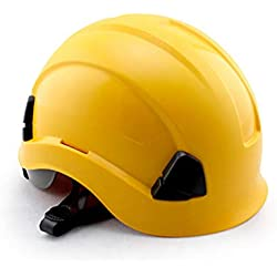 FH Casco De Seguridad, Sitio De Construcción De ABS Transpirable De Alta Resistencia/Casco De Seguro Laboral Para Electricistas/Casco Anti-impacto De Rescate De Escalada En Roca