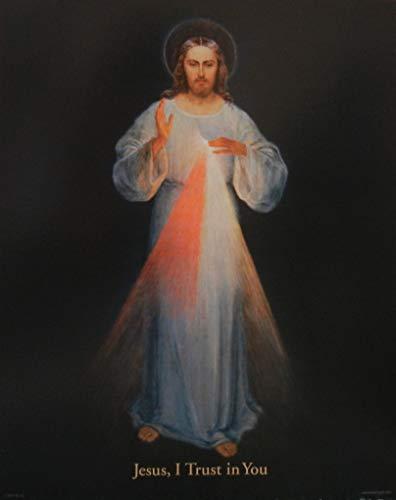 Divine Mercy 8X10 Wall Art Print
