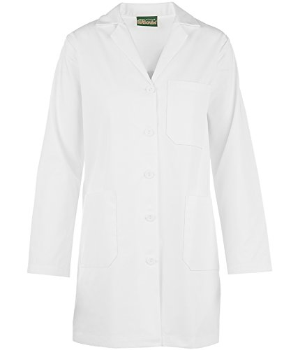 Strictly Scrubs Women's Lab Coat/Classic Fit Professional Lab Jacket (XS-3XL, White) (Large) by Strictly Scrubs (Image #4)