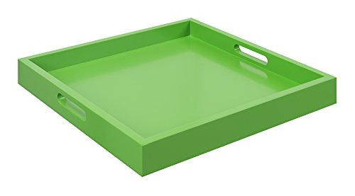 Convenience Concepts Palm Beach Serving Tray, Green
