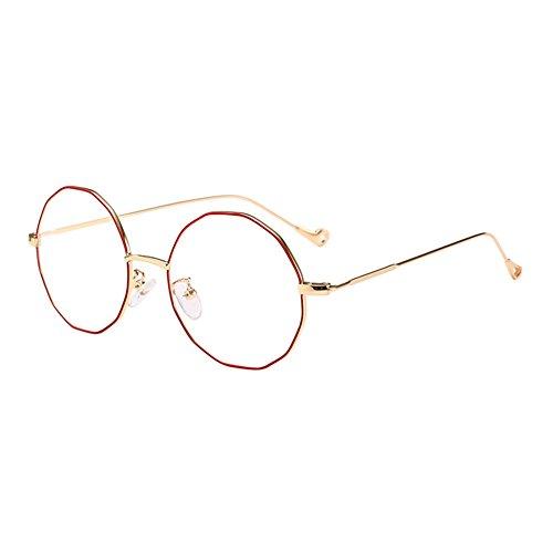 eb8824668a Lunettes Eyewear0 00 Métal Goggles VerresFemmes Orrouge Myopie Cadre  Polygone Hommes Xinvision Bref Ultra Spectacles 6 ...