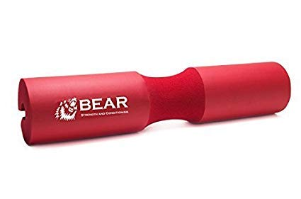 BEAR STRENGTH & CONDITIONING Barbell Squat Pad - Red