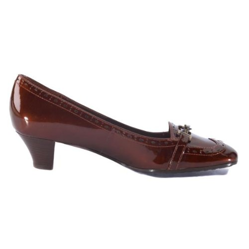 Liz Claiborne Kady Copper Metallic Pump Size 6 M