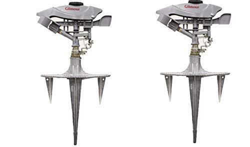 - Gilmour 199LMSGP Professional Adjustable Circular Sprinkler, Coverage 8500 Sq Ft (Pack of 2)