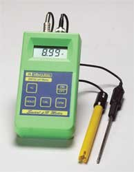 Milwaukee Instruments MW102 Standard Portable pH/Temperature Meter, 0 DegreeC to 70 DegreeC Temperature Range, 0.01pH Resolution