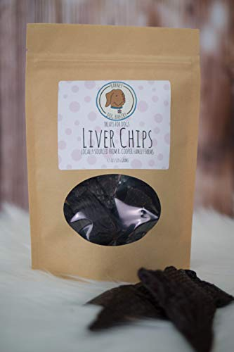 Liver Chips Dehydrated Beef Liver Dog Treats