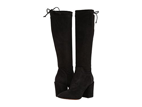 Aquatalia Women's Floriana Suede Mid Calf Boot, Black, 11...