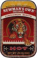Newman's Own Organics Mints Cinnamon -- 1.76 oz