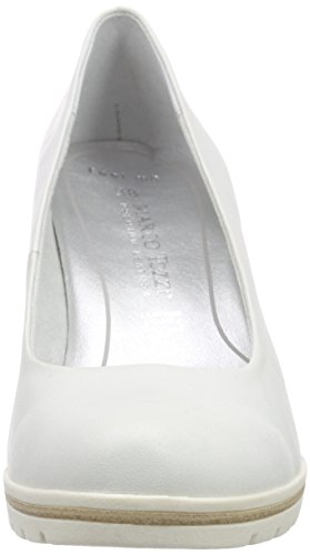 Naisten Tozzi 109 luonnonvalkoinen 22419 Pumput Marco Premio Suljettu Valkoinen CUwqxSt