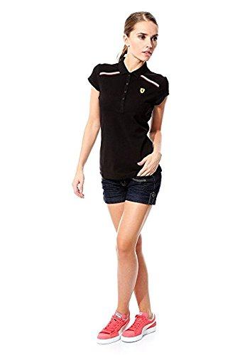 Puma Womens SF Polo Shirt, nero, grande