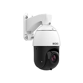 PoE Camera, Bioxo 30X Zoom Auto Tracking POE+ IP Camera, High Speed 492ft Night Vision Camera, 2MP Weatherproof Onvif POE Dome Camera