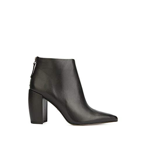 (Kenneth Cole New York Women's Alora Pointy Toe Ankle Bootie Boot, Black, 8 M US)