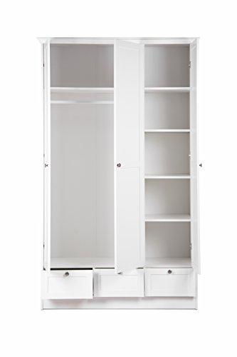 STOCKHOLM Mädchenzimmer Jugendzimmer Schlafzimmer Komplett Set Im Landhaus  Stil In Weiß ...