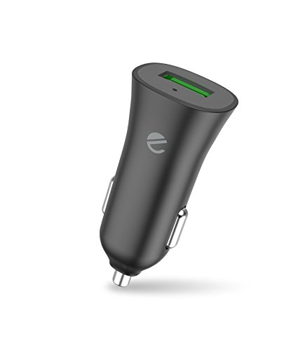 - eeco Car Charger Quick Charge 3.0 USB Adapter 18W Fast Charging for Galaxy S8/S7/S6/Edge/Plus, Note 8/5/4 and smartIC Charging for iPhone 8/7/6s, iPad Pro/Air/Mini, LG, HTC, Nexus etc.