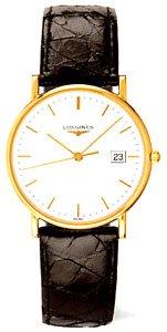 New Longines La Grande Classique Presence Mens Watch L4.743.6.12.0 (18k Solid Gold (18k Solid Gold Mens Watch)