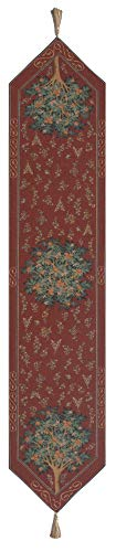 Orange Tree II Large,French Tapestry Table Runner, Large: 70.00