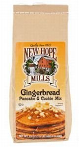 Gingerbread Pancake & Cookie Mix (1.5 Pounds) by New Hope (Gingerbread Pancake)