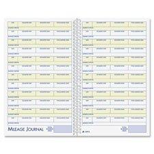 Adams Vehicle Expense Journal - Vehicle Mileage/Expense Jrnl,w/Pckts,5-1/4