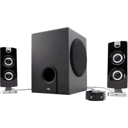 Price comparison product image Cyber Acoustics CA-3602 Platinum Speaker System - 2.1-channel - 30W (RMS) / 62W (PMPO)