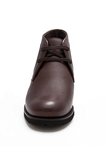 Zapatillas Elevadoras Zerimar Para Hombres AuHombrestar + 3 Pulgadas A Tu Altura Zapatillas De Piel De Calidad Made In Spain Marrón