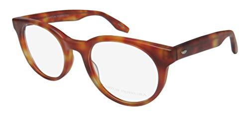 Barton Perreira Royston Mens/Womens Designer Full-Rim Shape Fabulous Modern Sleek Eyeglasses/Eye Glasses (49-21-148, Matte ()