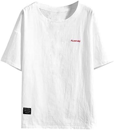 Charku Tシャツ メンズ 夏服 半袖 シャツ トップ シャツ トップス 半袖 シャツ 無地 綿 カットソー 軽い 柔らかい シャツ 男性 トップス ゆったり ブラウス カジュアル ファッション かっこいい レジャー 春夏節対応 大きいサイズ