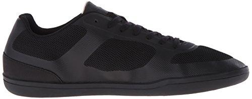 Lacoste Men's Court-Minimal Sport 316 1 Spm Fashion Sneaker, Black, 10 M US