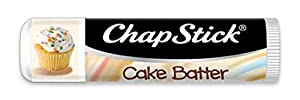 ChapStick Cake Batter Skin Protectant Flavored Lip Balm Tube, 12 Count