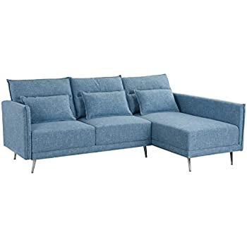 Amazon.com: Sectional Sofa, L-Shape Sectional Couch with ...