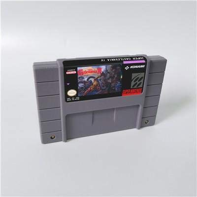 Game card Super Castlevania IV 4 - Action Game Card US Version English Language Game Cartridge SNES , Game Cartridge 16 Bit SNES (Super Castlevania Iv)