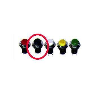 マル信無線電機 押しボタンスイッチ OFF-(ON) 黒 【MS-350-1】