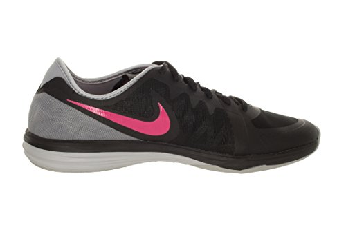 Nike Dual Fusion Tr 3, Women's Fitness Shoes Black Pink Power Wolf Grey 007