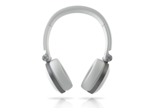 050036321891 - JBL E30 White High-Performance On-Ear Headphones with JBL Pure Bass and DJ-Pivot Ear Cup, White carousel main 1