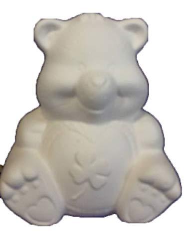 Ceramic Bisque Teddy Bear - Creative Kreations Ceramics 5