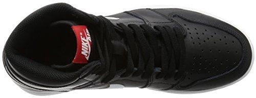 noir Blanc Og 1 De noir Homme Espadrilles Jordan ball Basket Retro Nike Air High Noir qgTSOn7w