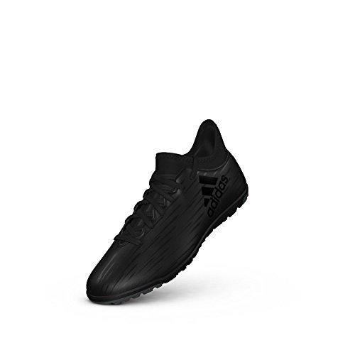 adidas X16.3 Tf J Black Indoor Soccer Shoes 3 Black Indoor Soccer Shoes