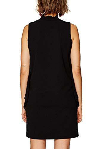 Schwarz Kleid 001 Collection Damen ESPRIT Black xvCTf6qwO