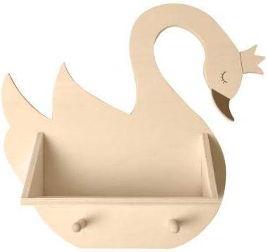 Estantería y percheros de madera Artemio - Lovely Swan - 37 ...