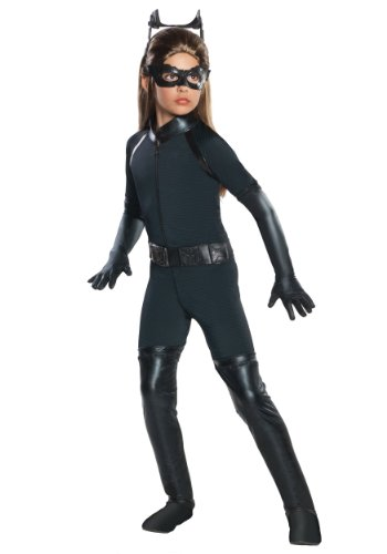 Big Girls' Deluxe Catwoman Costume (Gotham Catwoman Costume)