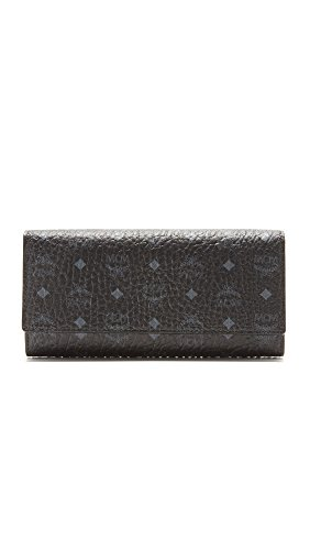 MCM Women's Trifold Wallet, Black, One Size by MCM